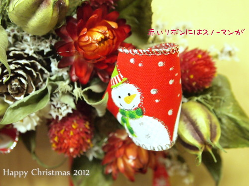 クリスマスツリー&リースのオーナメント