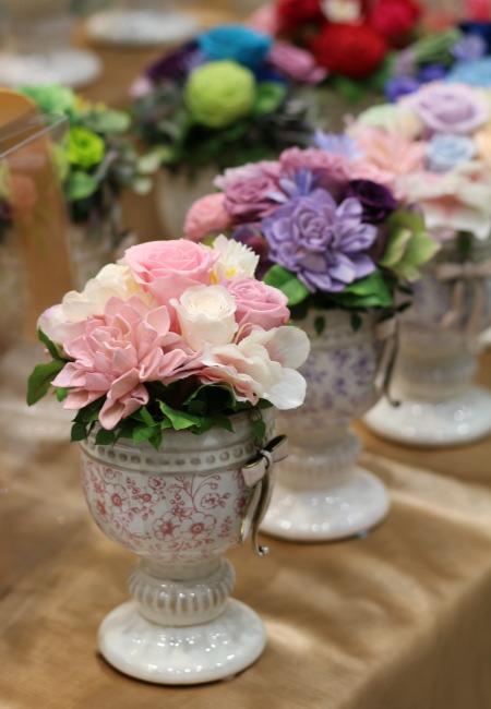 日比谷花壇 バースツトーン プリザーブドアレンジメント