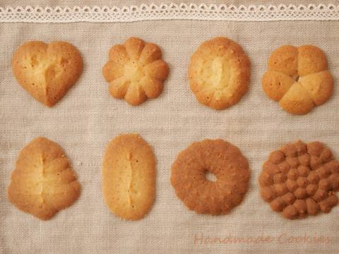 手作りお菓子 絞り出しクッキー