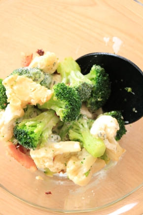ローソンフレッシュ(スマートキッチン)10分手料理キットサラダ