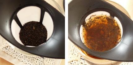ハリオ ワンカップティーメーカー お茶の淹れ方