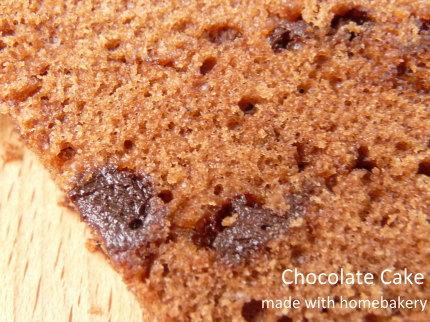 MKホームベーカリーレシピ チョコレートケーキ