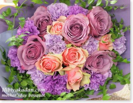 日比谷花壇 母の日のブーケ