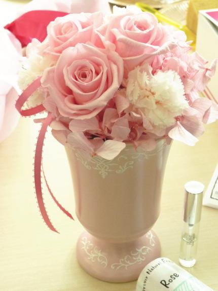 日比谷花壇母の日プリザーブドフラワー