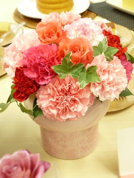 日比谷花壇母の日ギフト「アレンジメント」