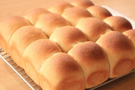 手作りパン きな粉のちぎりパン