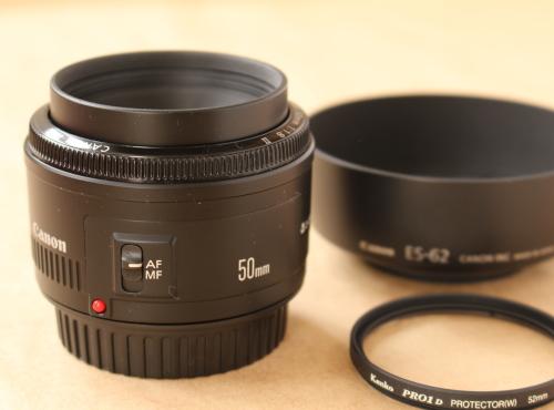 Canon EFレンズ EF50mm F1.8 II