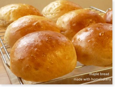 メープル味の菓子パン