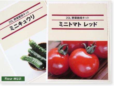 無印良品FlowerMUJI野菜栽培キット