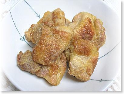 ヘルシーシェフでクッキング 鶏のから揚げ