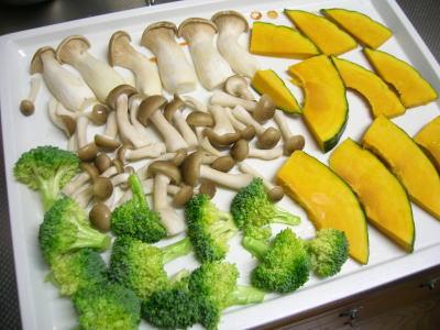 ヘルシーシェフクッキング 野菜のグリル焼き