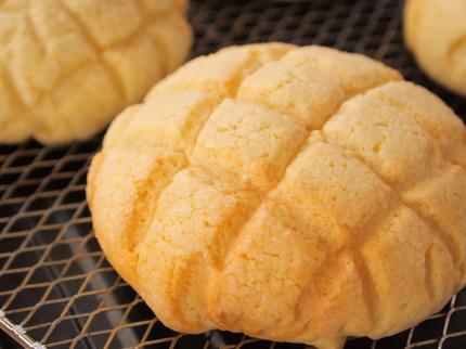 手作りパン メロンパン
