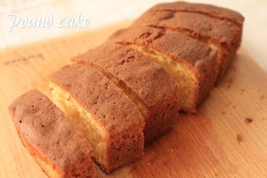 手作り パウンドケーキ