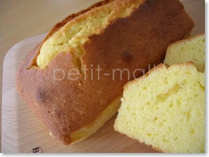 バーミックスで作るパウンドケーキ