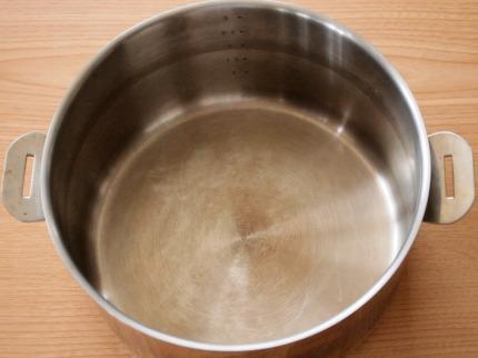 キレイの匠 茶渋で汚れた鍋