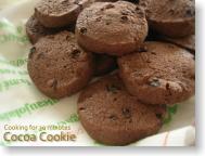 シナモンココアクッキー