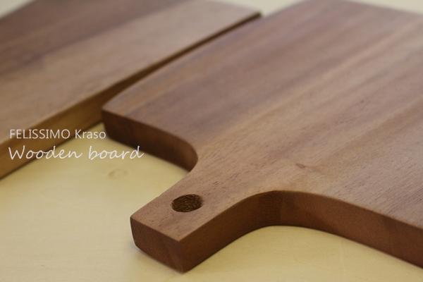 森香織さんと作った木製カッティングボード フェリシモクラソ