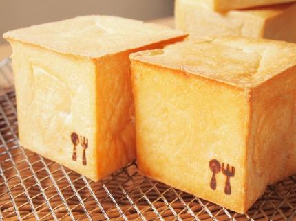 焼印付きミニキューブ食パン