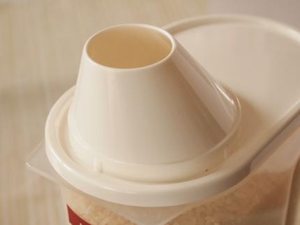 無印良品 冷蔵庫用米びつ保存容器